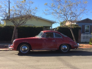 The Porsche 356 is a gorgeous car.
