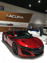 The Acura NSX. (Acura is Honda's luxury brand.)