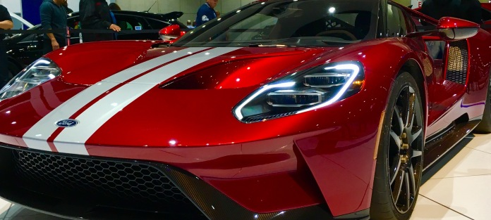 The new Ford GT is a stunner